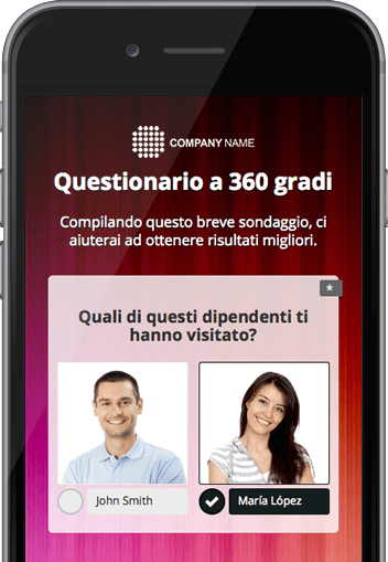 Questionario per Survio
